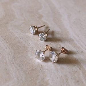 Stud Earrings (Set of 2)